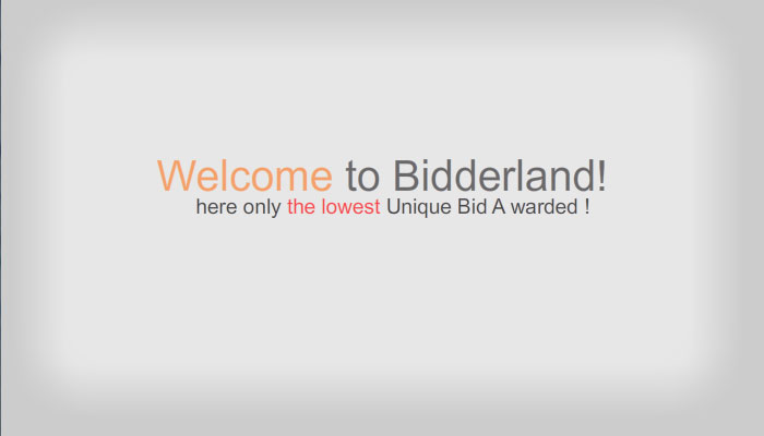Bidderland 2d Animation flash presentation